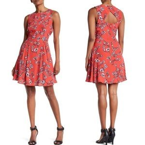 Cupcakes and Cashmere Sweeney Blossom Cutout Dress